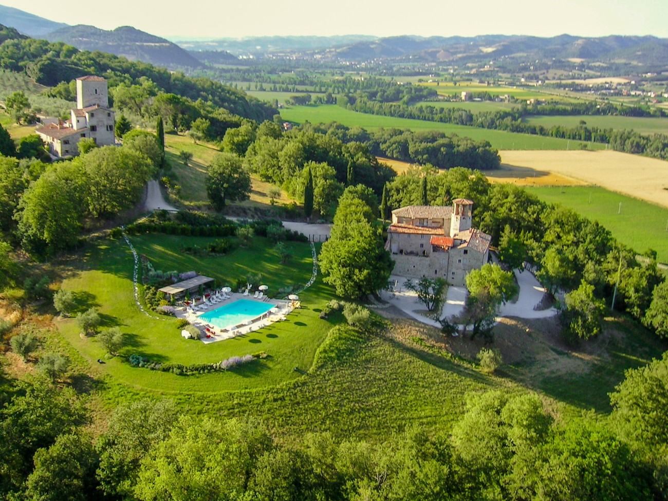 tuscany vacation rentals Castle Tarri