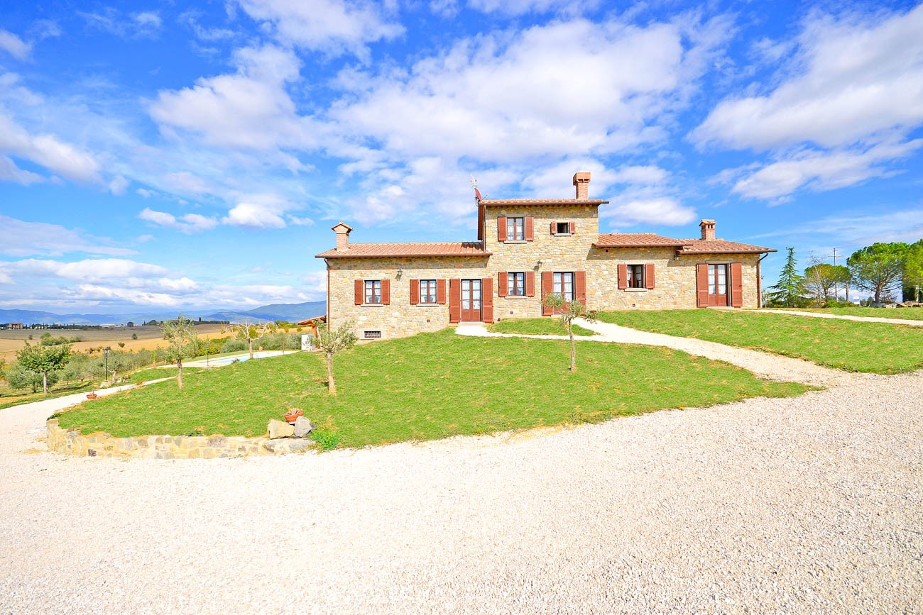 villas in tuscany with chef Massimo