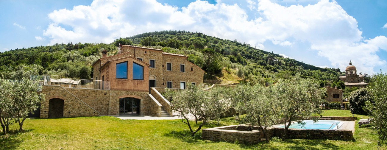 modern tuscan villa tuscany