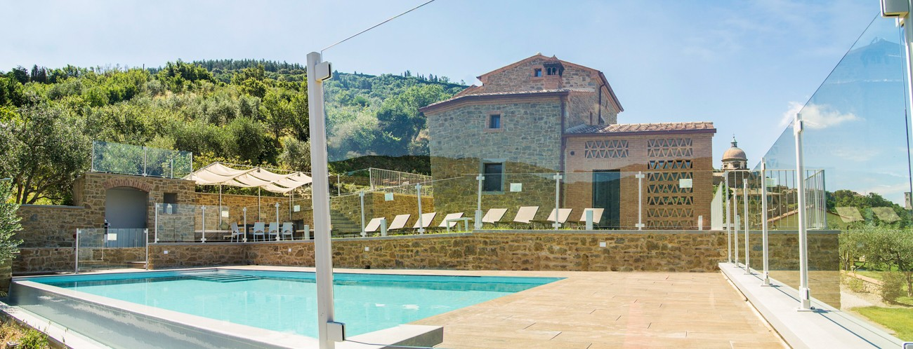 villas in italy with private pool Rosina