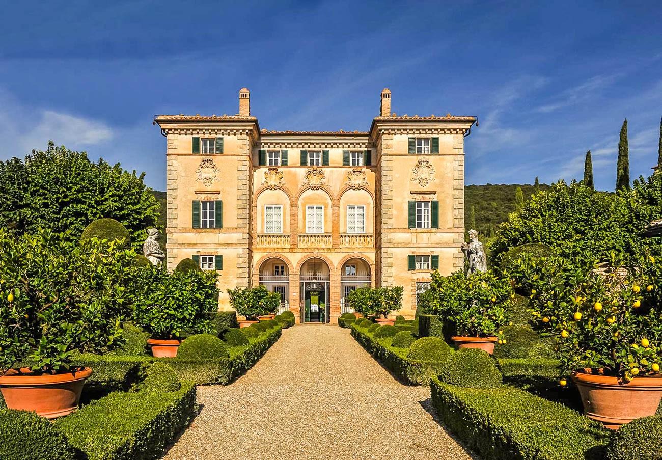 italian villas for rent Siena